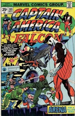 Captain America and the Falcon #189