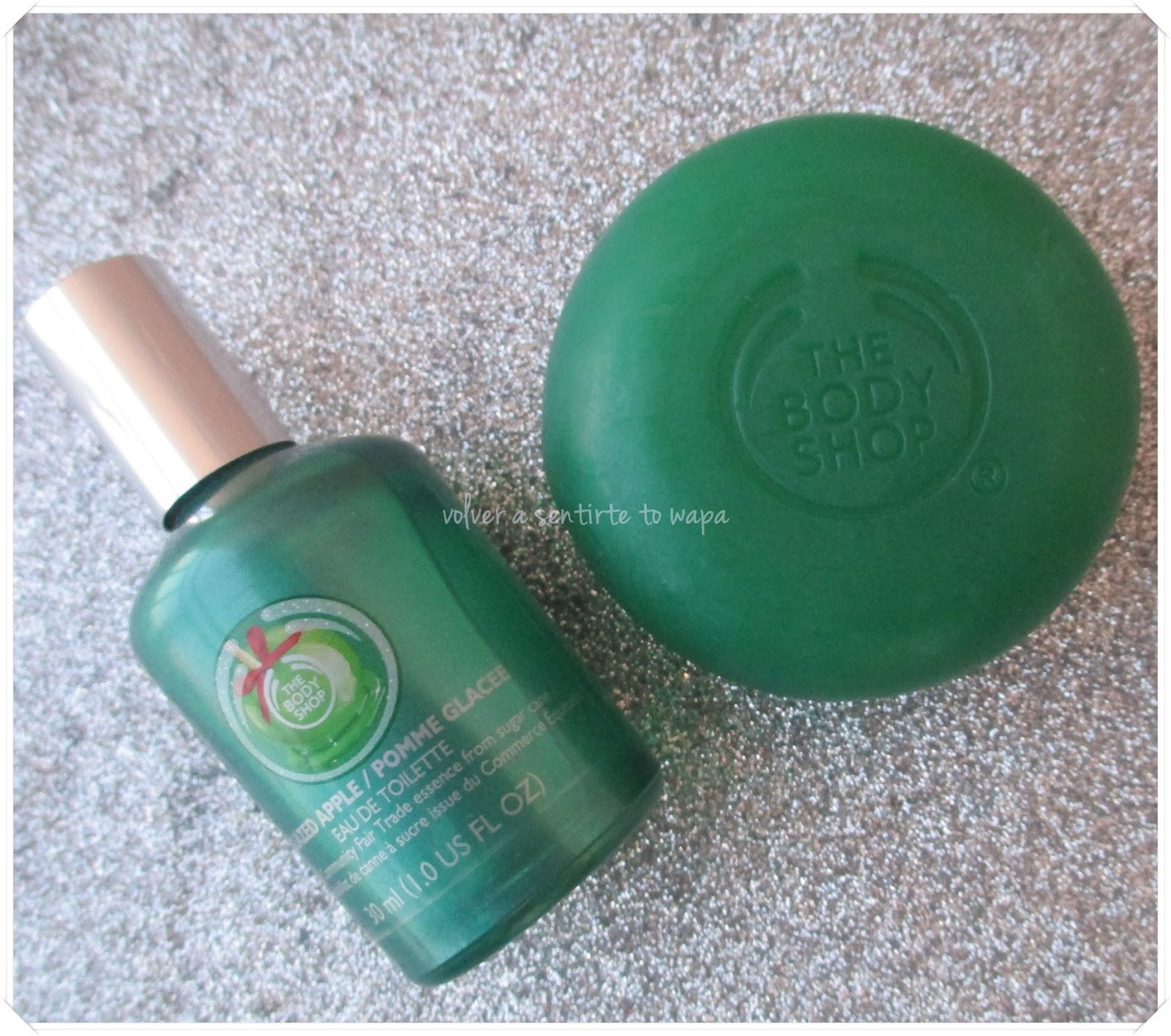 Rebajas en The Body Shop - Colonia y Jabón de Manzana Glaze