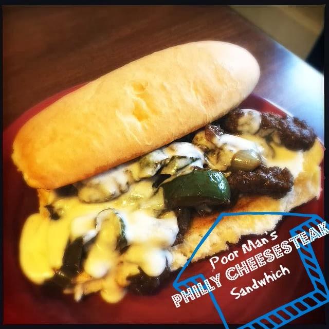Poor Man's Steak, Veggie And Mozzarella Sandwiches Recipe — Dishmaps