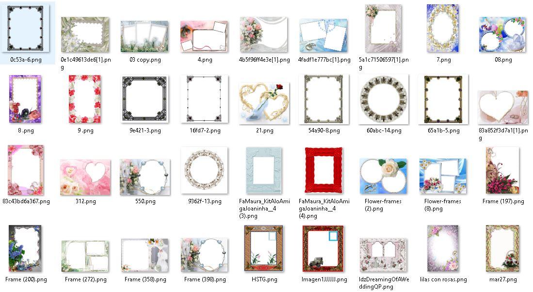 Descargar 1000 Marcos para fotos gratis - Recursos Graficos