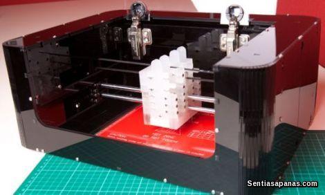 Pencetak 3D Cartesian EX1