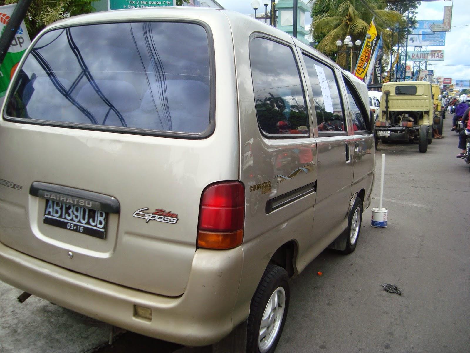Daihatsu Espass Dijual Di Yogyakarta