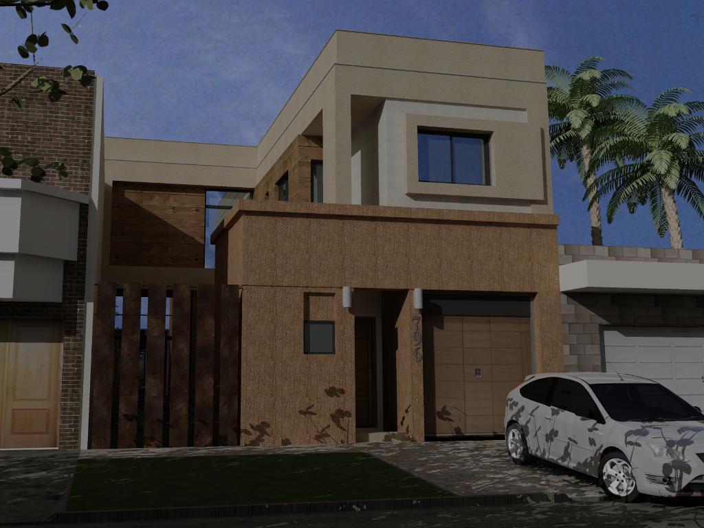 Casa de dise o reforma y ampliacion estudio santolin for Disenos para frentes de casas