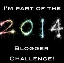 #2014BloggerChallenge