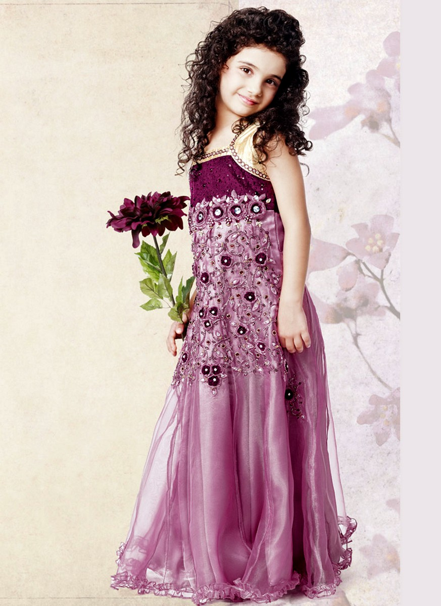 Girls gowns collection 2012 rupali fahsion kids for Kids dresses for wedding