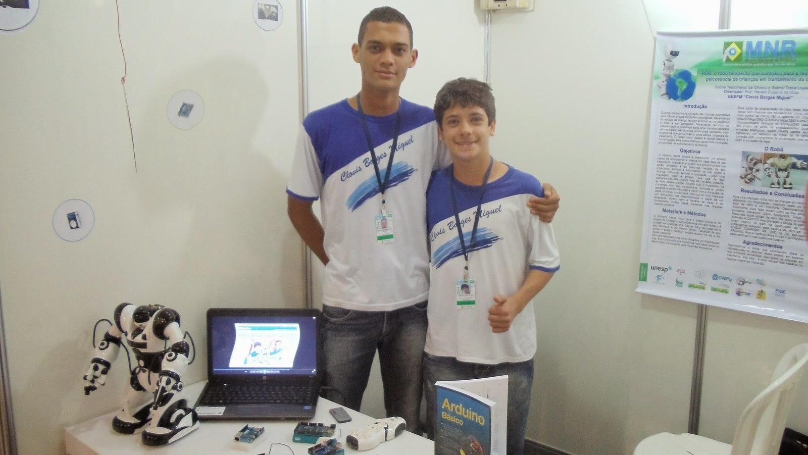 Equipe EEEFM Clovis Borges Miguel