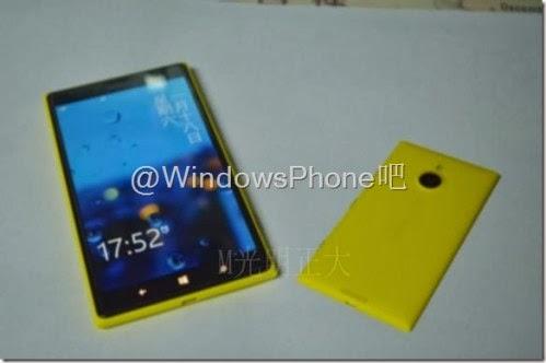 La differenza di grandezza tra i due smartphone wp8 di Nokia: la versione mini dovrebbe arrivare ad Aprile 2014