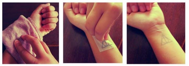 Tatuados como hacerte un tatuaje temporal tu mismo for Temporary tattoo tracing paper