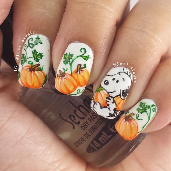 Fall Nail Art: PiggieLuv: HPB Presents: Fall Favorites