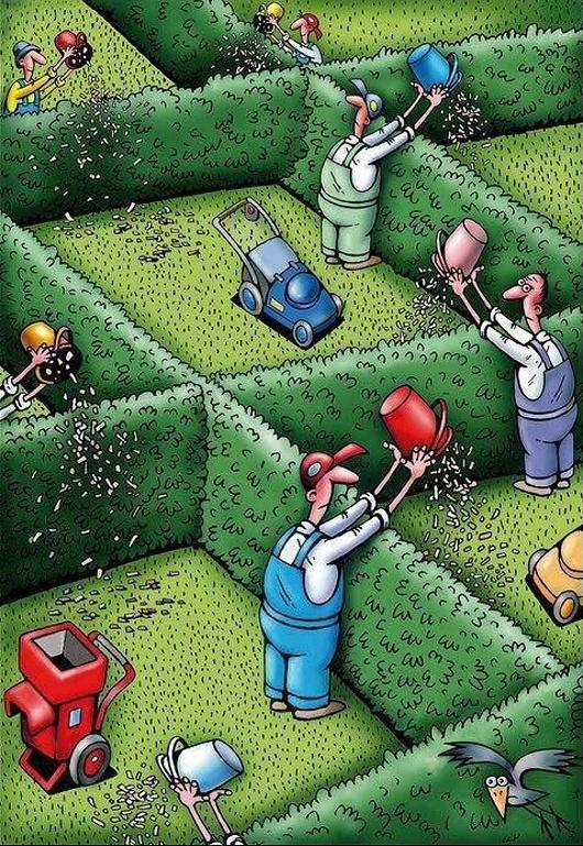 humor grafico solidaridad actual sociedad