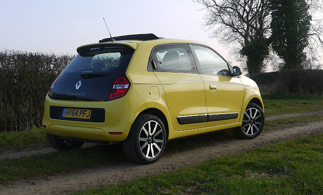 Renault Twingo rear view