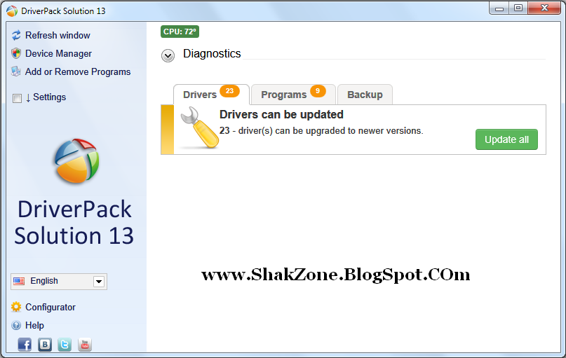 DriverPack Solution 13 New Full Version (2013) x86+x64 ...