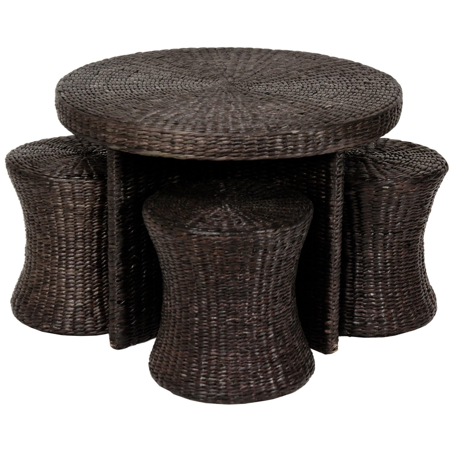 The Best Coffee Table With Stools Oriental Coffee Table With Stools