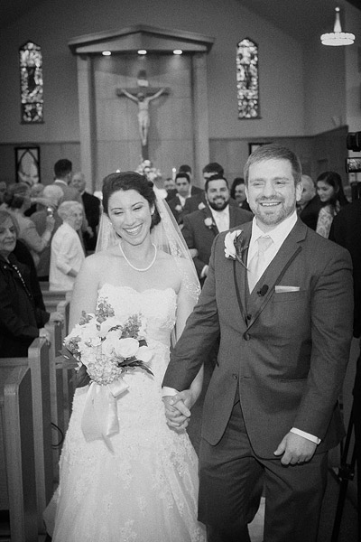 Saints Mary and Martha Church wedding