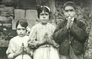 Hermana Lucía, entrevista con el Padre Fuentes (1957)