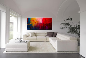"Abstract Painting ""Lucid Dream"" by Dora Woodrum"