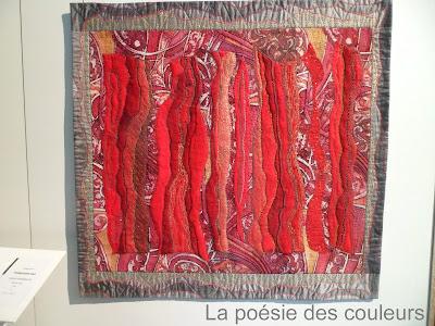 La po sie des couleurs 19 me carrefour europ en du patchwork sainte marie aux mines 2 - Salon du patchwork sainte marie aux mines ...