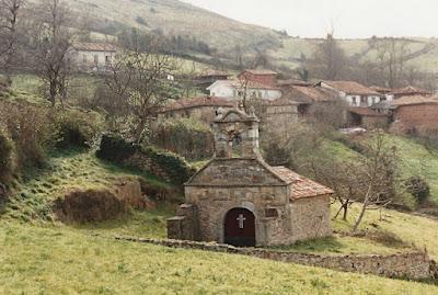 Capilla de Santa Bárbara de Loreda (Salas)