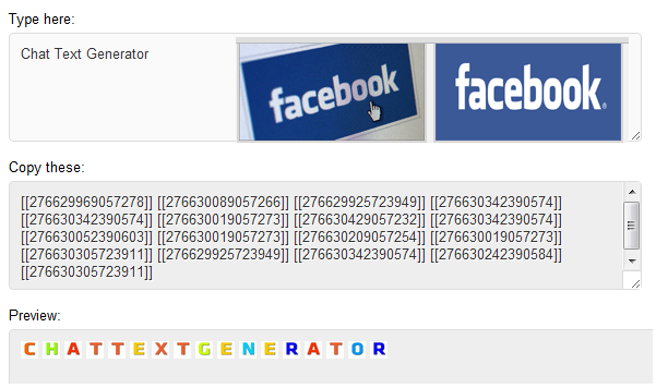 All Text Symbols For Facebook Facebook Tips And Tricks