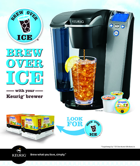 Iced Coffee Maker Keurig : A Ladybug on The Go: Keurig Brew Over Ice Review and #Giveaway / #Sweepstakes