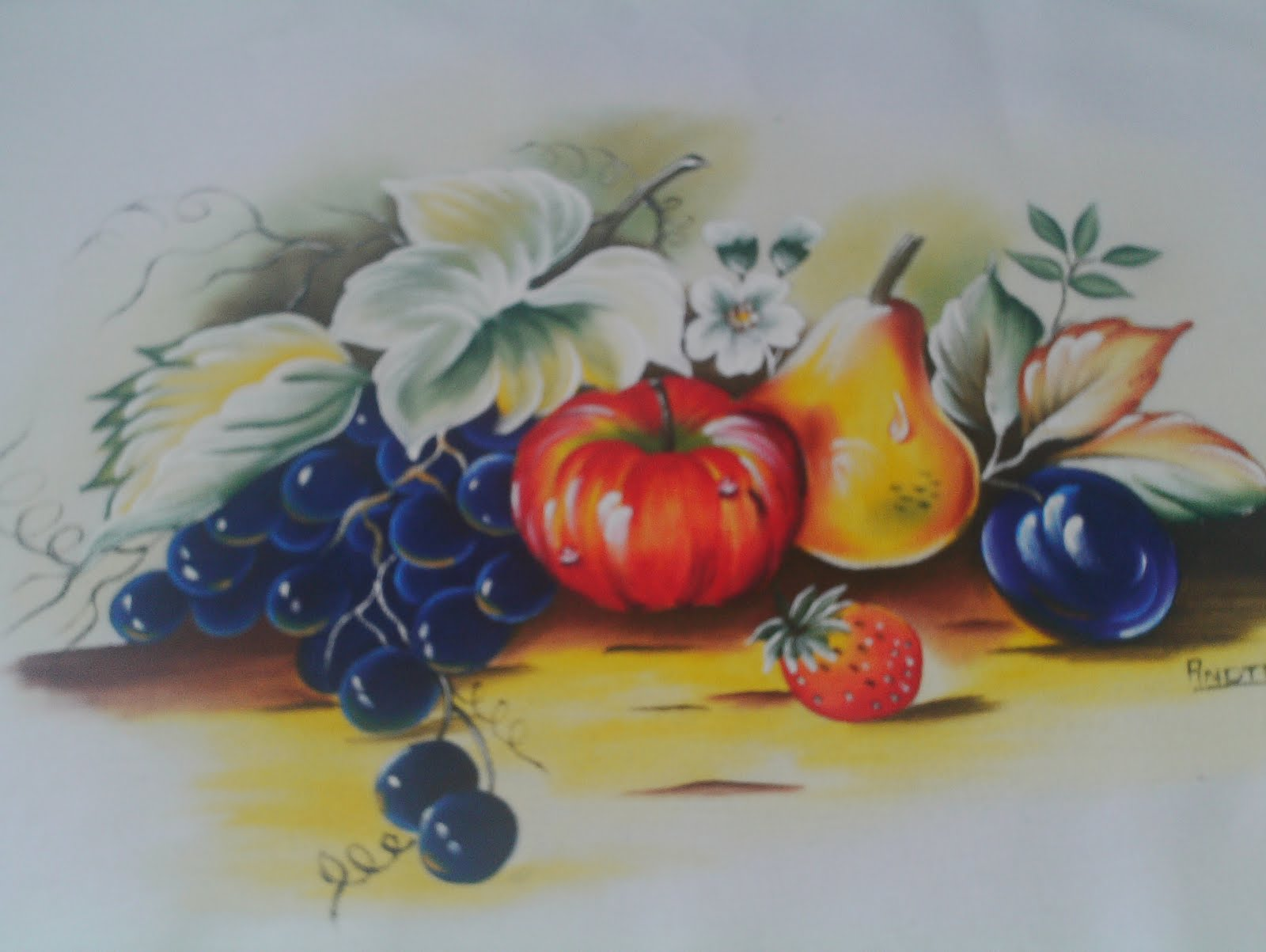 Pinturas Em Tecidos: MAIS PINTURAS
