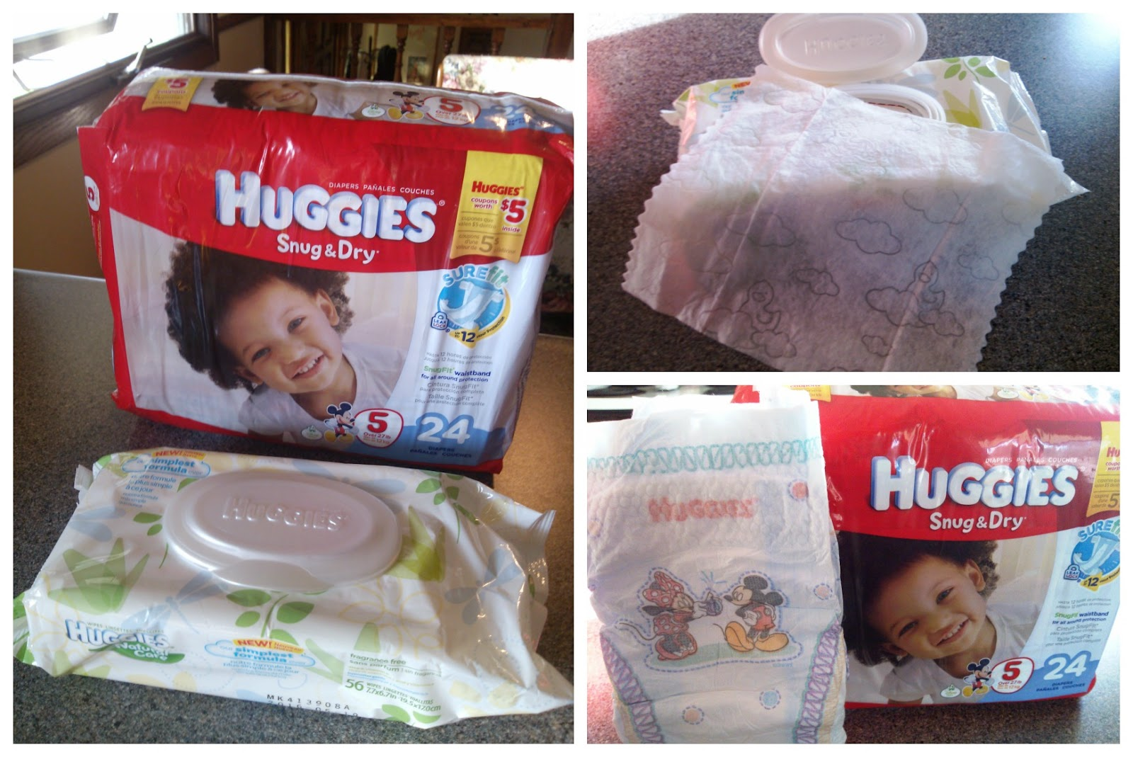 Huggies Snug & Dry Diapers + Natural Care Wipes at Target