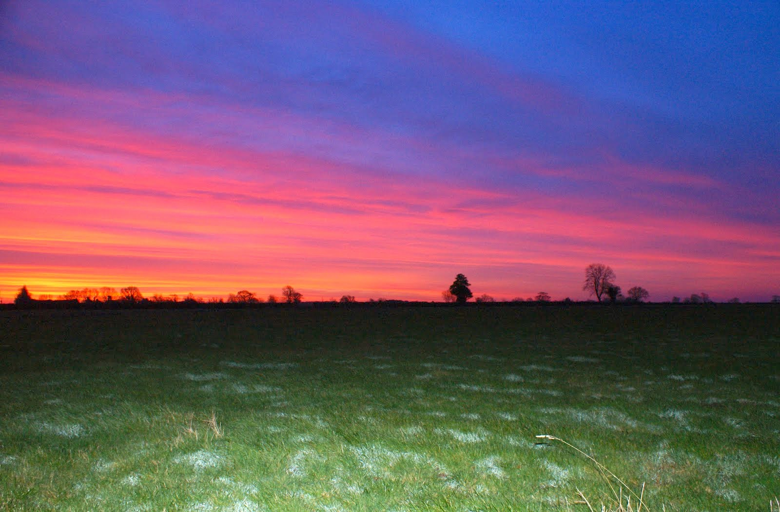 Sunrise at Le Grys Farm