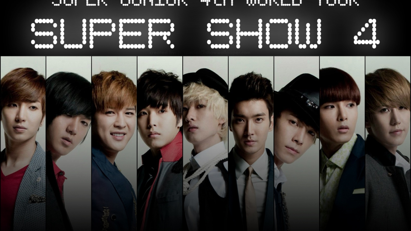 Super Junior  Super Show 4 wallpaper  Download Super Junior  Super