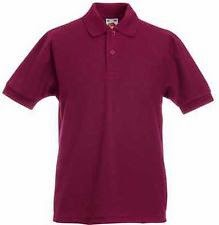2 PACK OF FRUIT OF THE LOOM KIDS POLO SHIRTS BOYS GIRLS SCHOOL