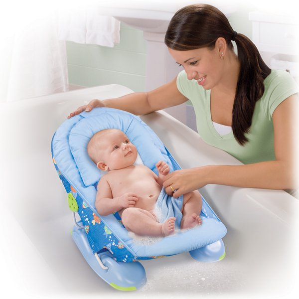 summer infant mother 39 s touch large baby bather tub time. Black Bedroom Furniture Sets. Home Design Ideas