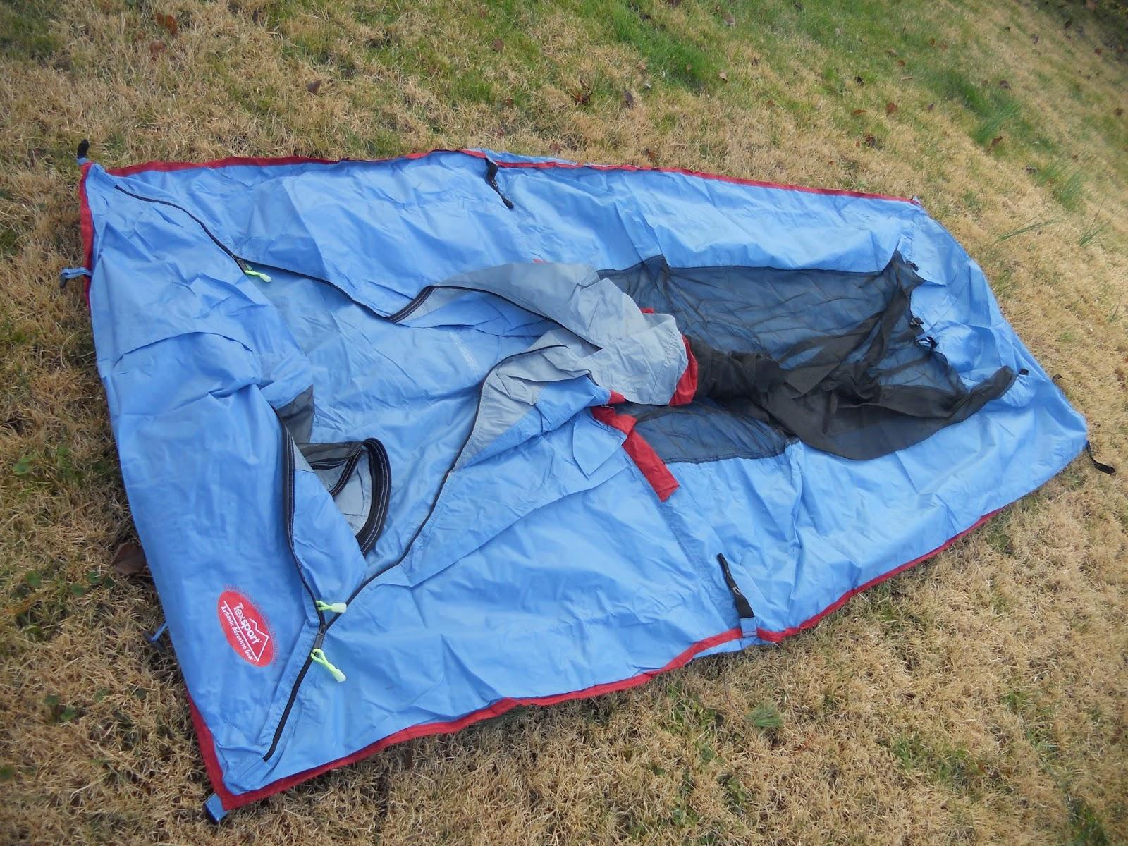 Texsport Saguaro Bivy Shelter Tent Skin Laid Out & Texsport Saguaro Bivy Shelter Tent: Texsport Saguaro Bivy Shelter ...