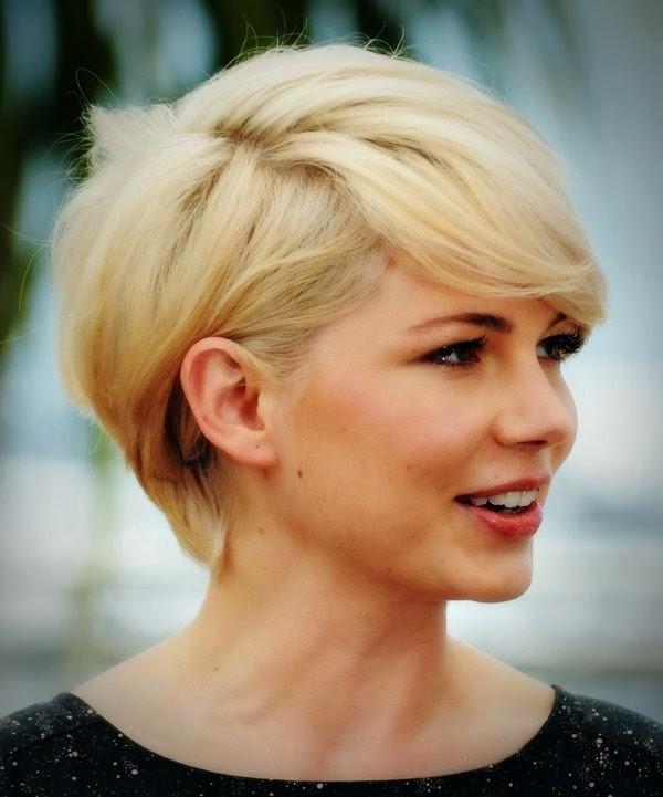 Model Potongan Rambut Pendek Untuk Wajah Bulat
