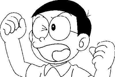 Coloring Pages Fun Doraemon
