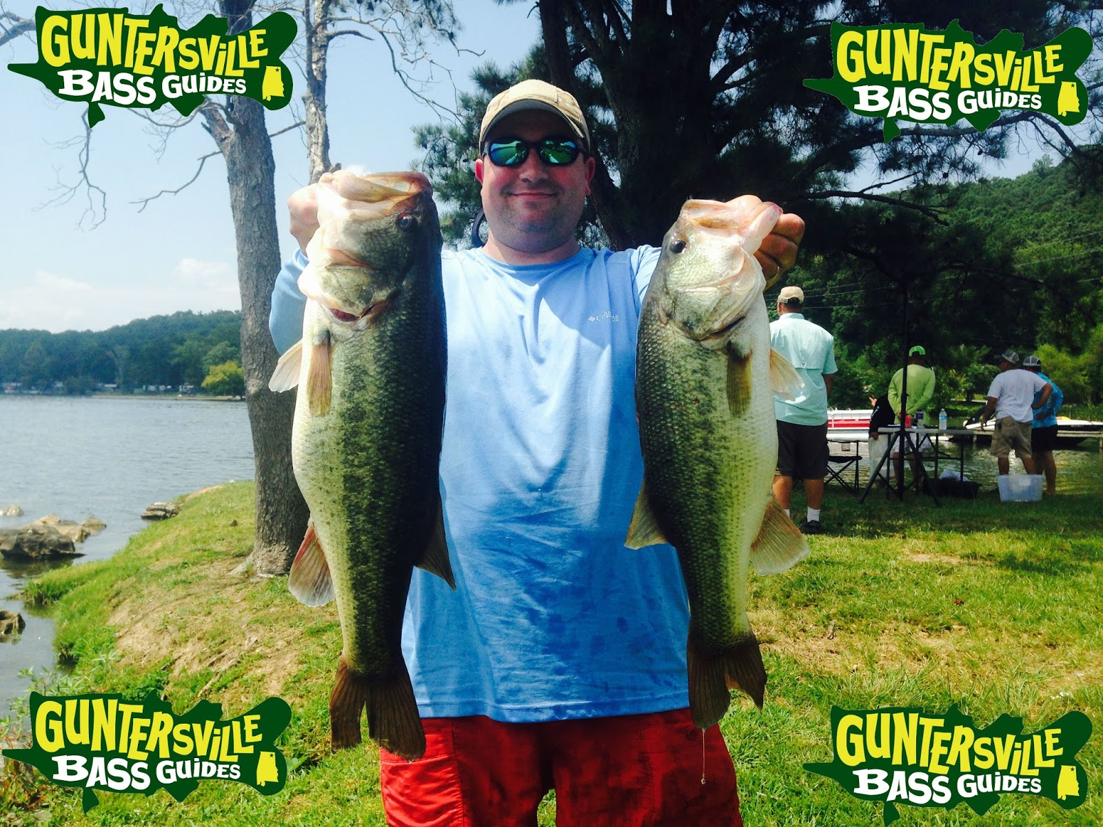 Lake guntersville fishing report guntersville bass guides for Kaw lake fishing report