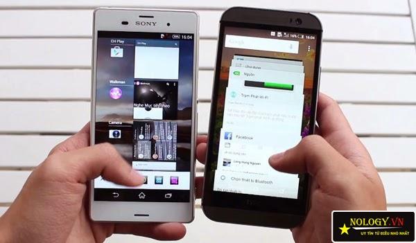 Sony Xperia Z3 Nhật Bản và HTC One M8 đại chiến.