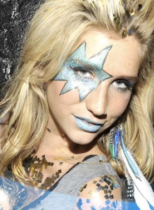 Kesha Glitter Eye Makeup Kesha Eye Make Up Tutorial