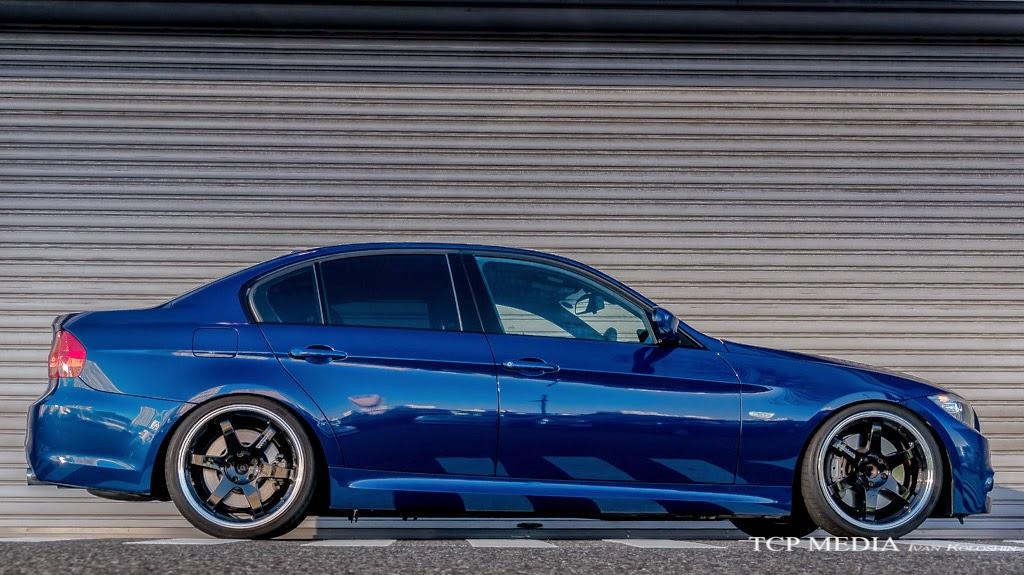 BMW E90 TE37 JDM