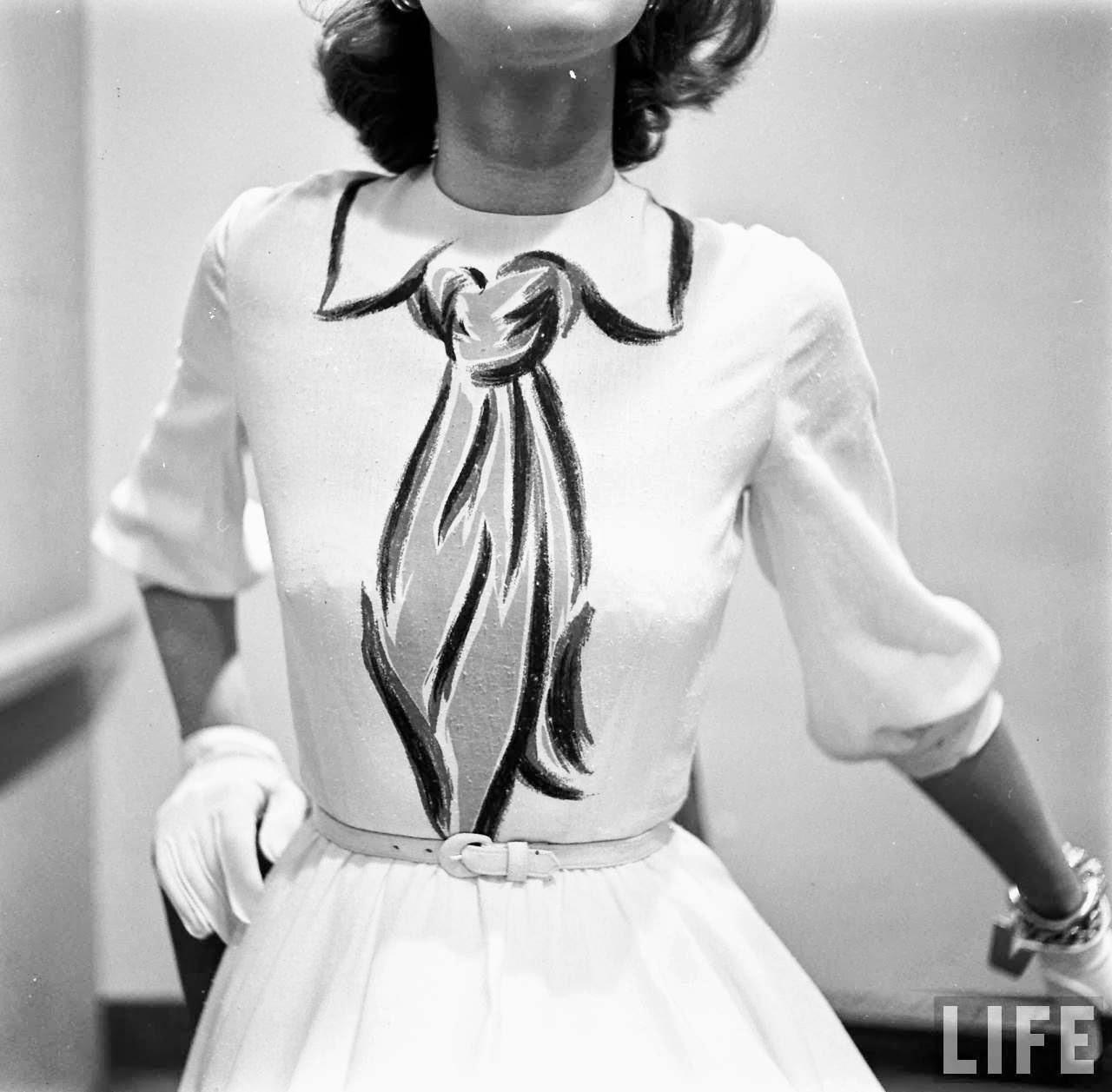 The Hernes Trompe L'oeil Dress
