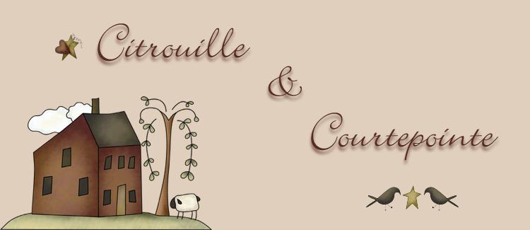 Citrouille & Courtepointe