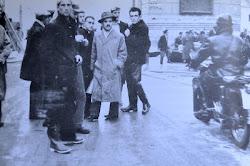 1951, Ugo Bartesaghi guida la colonna lecchese in soccorso al Polesine alluvionato