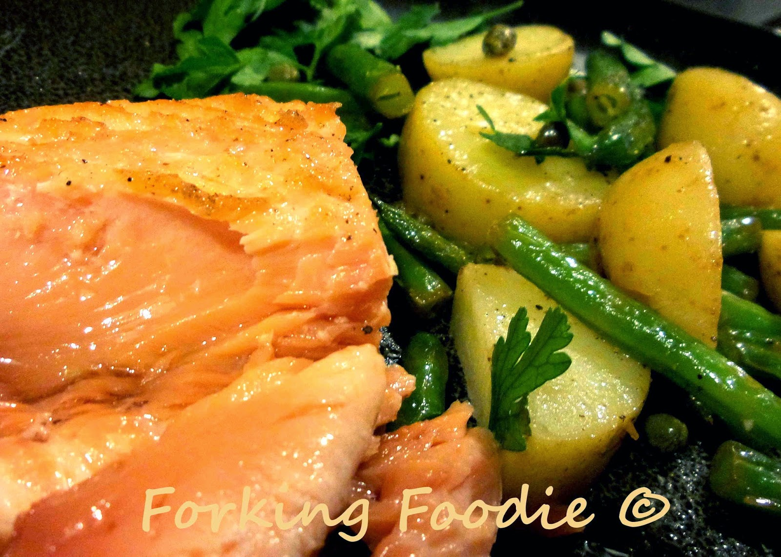Sous Vide Salmon in the Thermomix