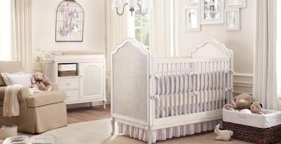 Model Kamar Bayi putih