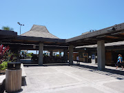 It's also my first openair, outdoor airport. That's got to say something . (kona airport)
