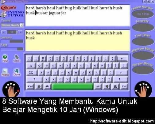 8 Software Yang Membantu Kamu Untuk Belajar Mengetik 10 Jari (Windows)