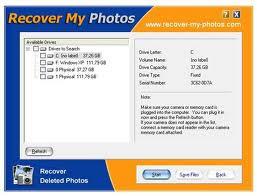 برنامج استعادة الصور المحذوفة recover images deleted