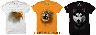 T-shirt 3 dimensi