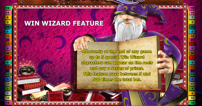 slot machine games online wizards win