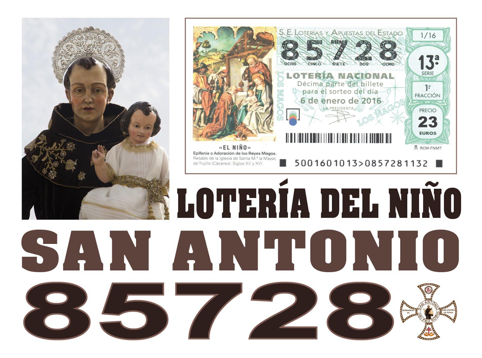 Loteria del Niño 2016