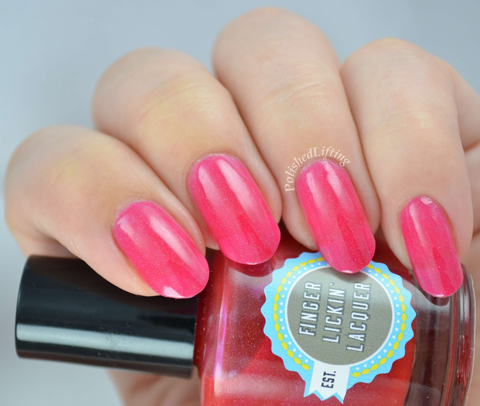 Finger Lickin' Lacquer Apple Tart