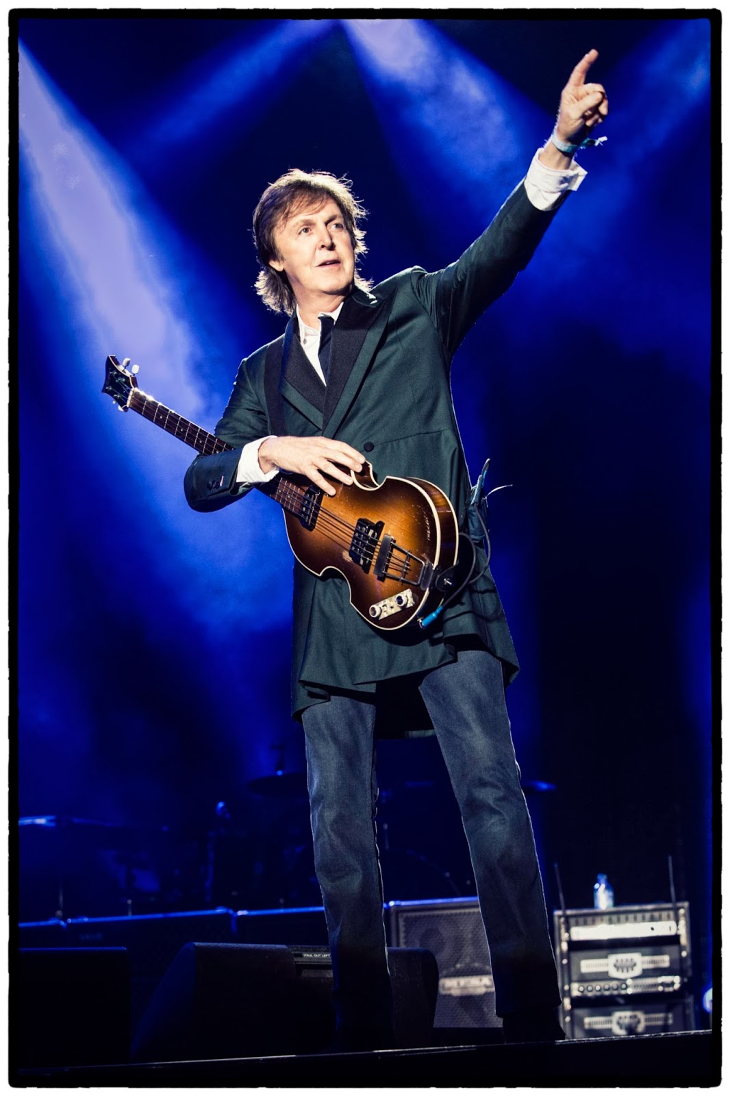 Paul McCartney Out There UK 2014